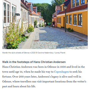 Why Odense should be on your 2020 travel list // Lonely Planet